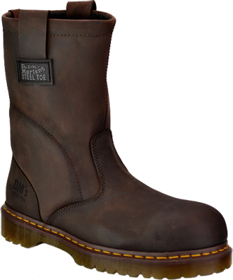 Men's Dr Martens Extra Wide Steel Toe Wellington Work Boot R13160201