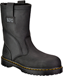 Men's Dr Martens Extra Wide Steel Toe Wellington Work Boot DMR13397001M