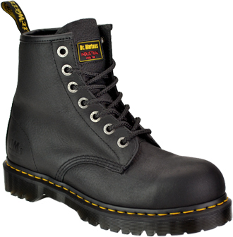 "Men's Dr Martens 6"" Extra Wide Steel Toe Work Boot R13398001"