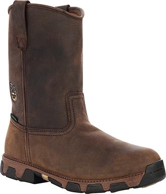 "Men's Georgia Boot 10"" Composite Toe WP Wellington Work Boot G4683"