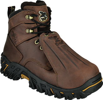 "[Closeout] Men's Georgia Boot 6"" Steel Toe Metguard Work Boot Z-G6703"