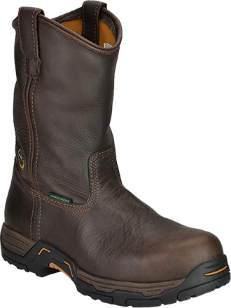 "Men's Georgia Boot 11"" Steel Toe WP Wellington Work Boot G4693"