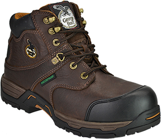 "Men's Georgia Boot 6"" Steel Toe WP Work Boot G6693"