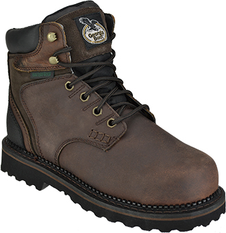 "Men's Georgia Boot 6"" Steel Toe WP Work Boot G7334"