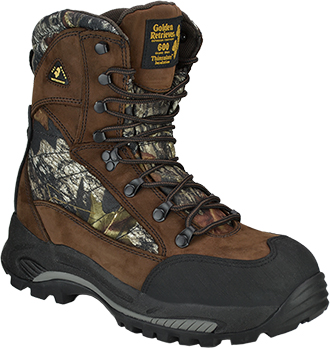 "Men's Golden Retriever 8"" Composite Toe WP/Insulated Work Boot 4663"