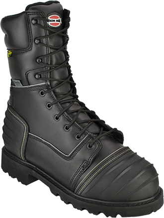 "Men's Iron Age 10"" Composite Toe WP/Insulated Metguard Miner Work Boot IA0193"