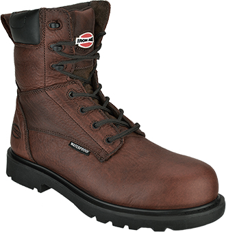 "Men's Iron Age 8"" Composite Toe WP Metal Free Work Boot IA0180"