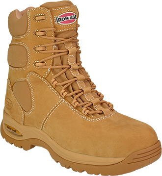 "Men's Iron Age 8"" Composite Toe WP/Insulated Metal Free Work Boot IA6900"