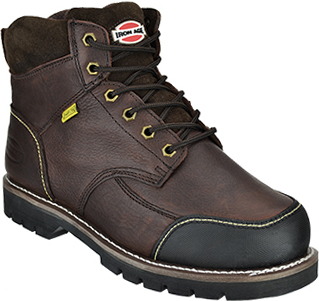 "Men's Iron Age 6"" Steel Toe Metguard Work Boot IA0163"