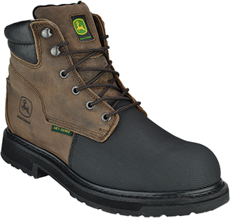 "Men's John Deere 6"" Flame Resistant Composite Toe Metguard Work Boot JD6370"