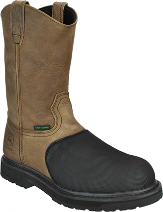 Men's John Deere Flame Resistant Composite Toe Wellington Metguard Work Boot JD4370
