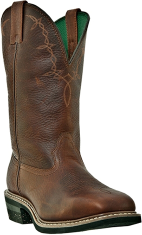 "Men's John Deere 12"" Steel Toe Western Work Boot JD5315"