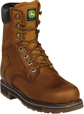 "Men's John Deere 8"" Steel Toe Work Boot JD8322"