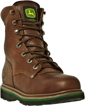 "Men's John Deere 8"" Steel Toe Work Boot JD8393"