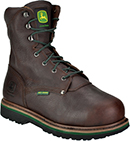 "Men's John Deere 8"" Steel Toe Metguard Work Boot JD8373"