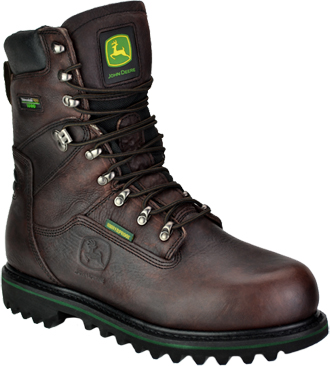 "Men's John Deere 9"" Steel Toe WP/Insulated Work Boot JD8995"