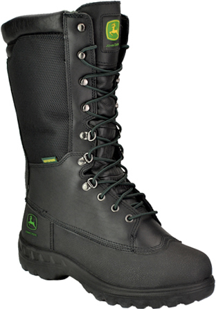 "Men's John Deere 12"" Steel Toe Metguard Miner WP/Insulated Work Boot JD9620"