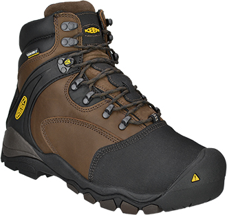 "Men's Keen 6"" Steel Toe WP Metguard Work Boot 1007969"