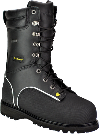 "Men's LaCrosse 10"" Composite Toe Metguard  Miner WP/Insulated Work Boot 00552090"