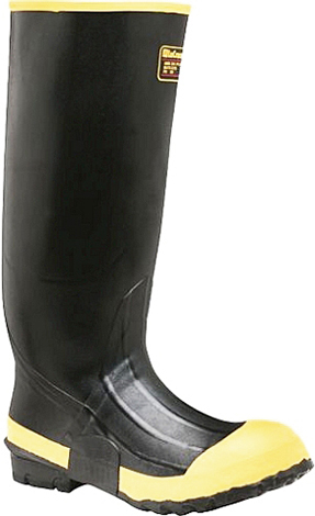 "Men's LaCrosse 16"" Steel Toe WP Rubber Work Boot 00101110"