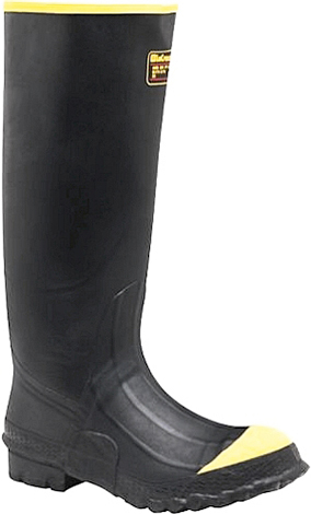 "Men's LaCrosse 16"" Steel Toe WP Rubber Work Boot 00267220"