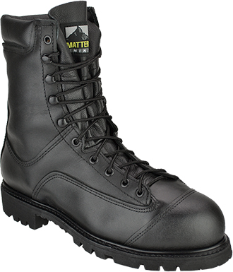 "Men's Matterhorn 8"" Steel Toe WP Metguard Work Boot (U.S.A.) 12299"