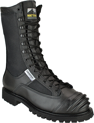 "Men's Matterhorn 10"" Steel Toe Metguard WP Boot (U.S.A.) 12900"