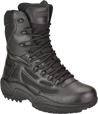 "Men's Reebok 8"" Composite Toe Metal Free Side-Zipper Work Boot RB8874"