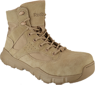 "Men's Reebok 6"" Dauntless Composite Toe Metal Free Side-Zipper Work Boot RB8621"