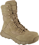 "Men's Reebok 8"" Dauntless Composite Toe Metal Free Side-Zipper Work Boot RB8821"