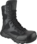 "Men's Reebok 8"" Dauntless Composite Toe Metal Free Side-Zipper Work Boot RB8826"