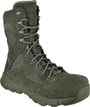 "Men's Reebok 8"" Dauntless Composite Toe Metal Free Side-Zipper Work Boot RB8835"