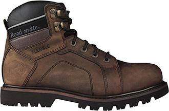 """Men's Roadmate 6"""" Steel Toe WP Work Boot Gravel-520S-WP"""