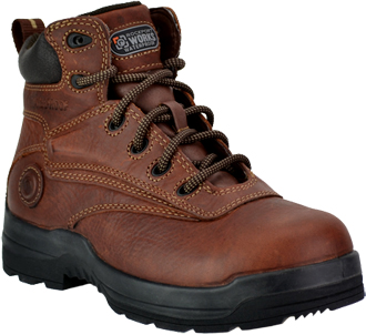 "Men's Rockport 6"" Composite Toe WP Metal Free Work Boot RP6628"