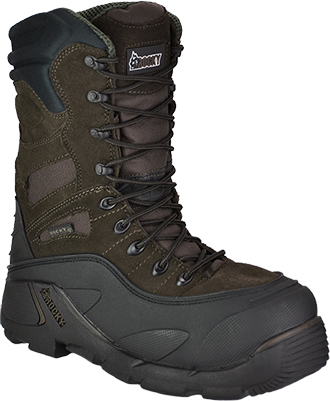 "Men's Rocky 9"" Steel Toe WP/Insulated Work Boot 7465"