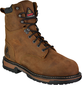 "Men's Rocky 8"" Steel Toe WP Work Boot 6692"