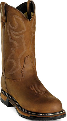 "Men's Rocky 11"" Steel Toe WP Western Work Boot 2809"