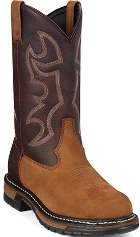"Men's Rocky 11"" Steel Toe Western Work Boot 6732"