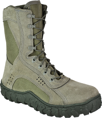 "Men's Rocky 8"" Steel Toe Work Boot 6108"