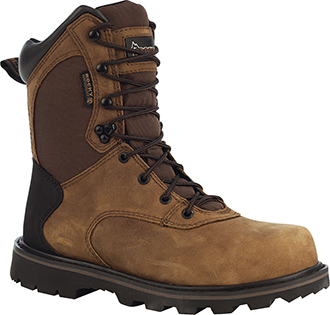 "Men's Rocky 8"" Steel Toe WP Work Boot 6546"