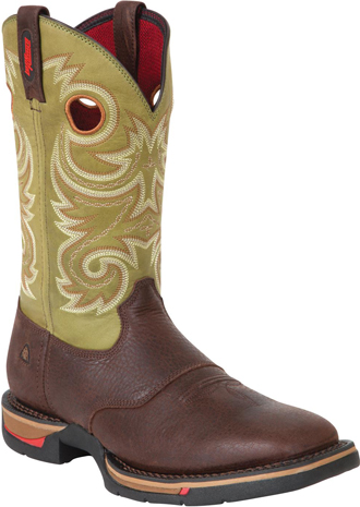 "Men's Rocky 12"" Steel Toe Western Work Boot 6818"