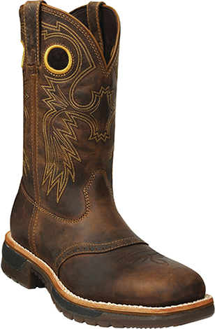 "Men's Rocky 11"" Steel Toe Western Work Boot 6029"