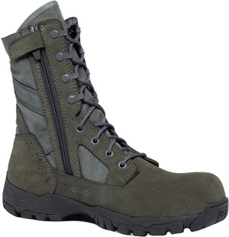 "Men's Tactical Research Composite 8"" Toe Side-Zipper Military Boot TR696ZCT"