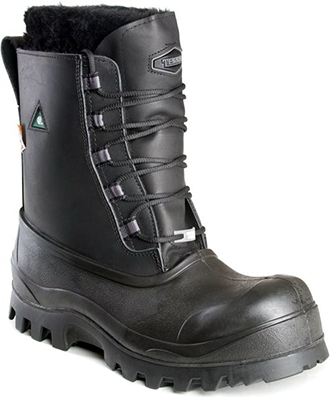 "Men's Terra 8"" Composite Toe Insulated Metal Free Work Boot 4853"
