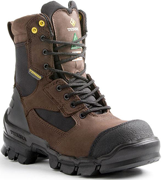 "Men's Terra 8"" Composite Toe Insulated Metal Free Work Boot 805524"