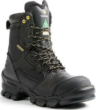 "Men's Terra 8"" Composite Toe Insulated Metal Free Work Boot 805525"