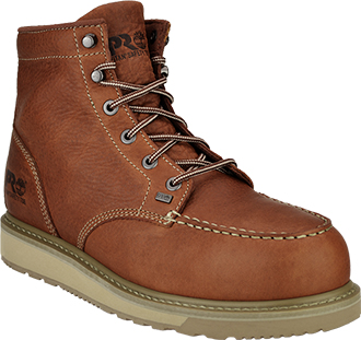 "Men's Timberland 6"" Steel Toe Wedge Sole Work Boot 88559"
