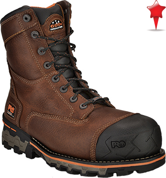 "Men's Timberland 8"" Composite Toe WP/Insulated Work Boot 89628"