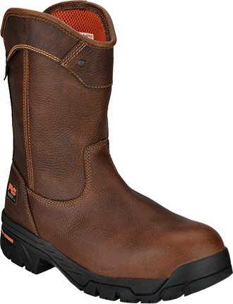 "Men's Timberland 10"" Composite Toe WP Wellington Work Boot 88537"