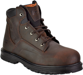 "Men's Timberland 6"" Steel Toe Work Boot 85591"